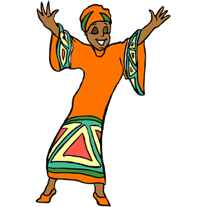 African Woman clipart, cliparts of African Woman free download (wmf.