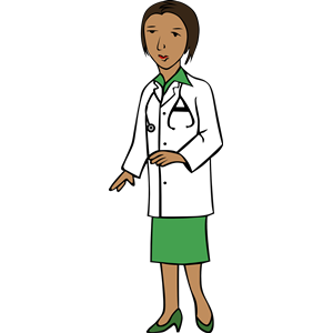 African Doctor clipart, cliparts of African Doctor free.