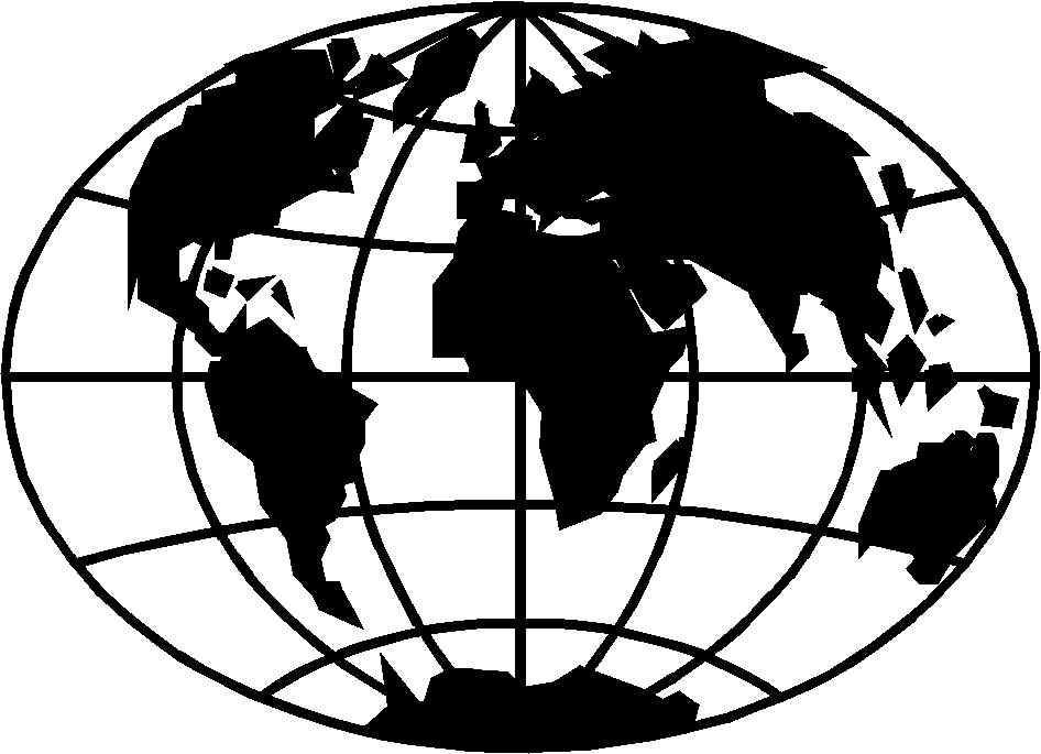 5184 Globe free clipart.