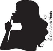 Shhh Clip Art Vector Graphics. 90 Shhh EPS clipart vector.