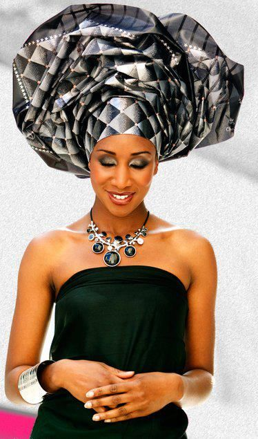 How To Tie A Nigerian Gele Head Wrap — Bino and Fino.