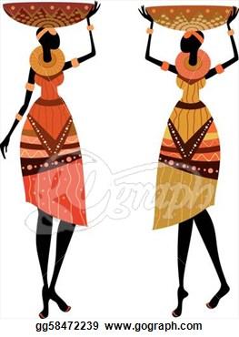 African Women Clipart.