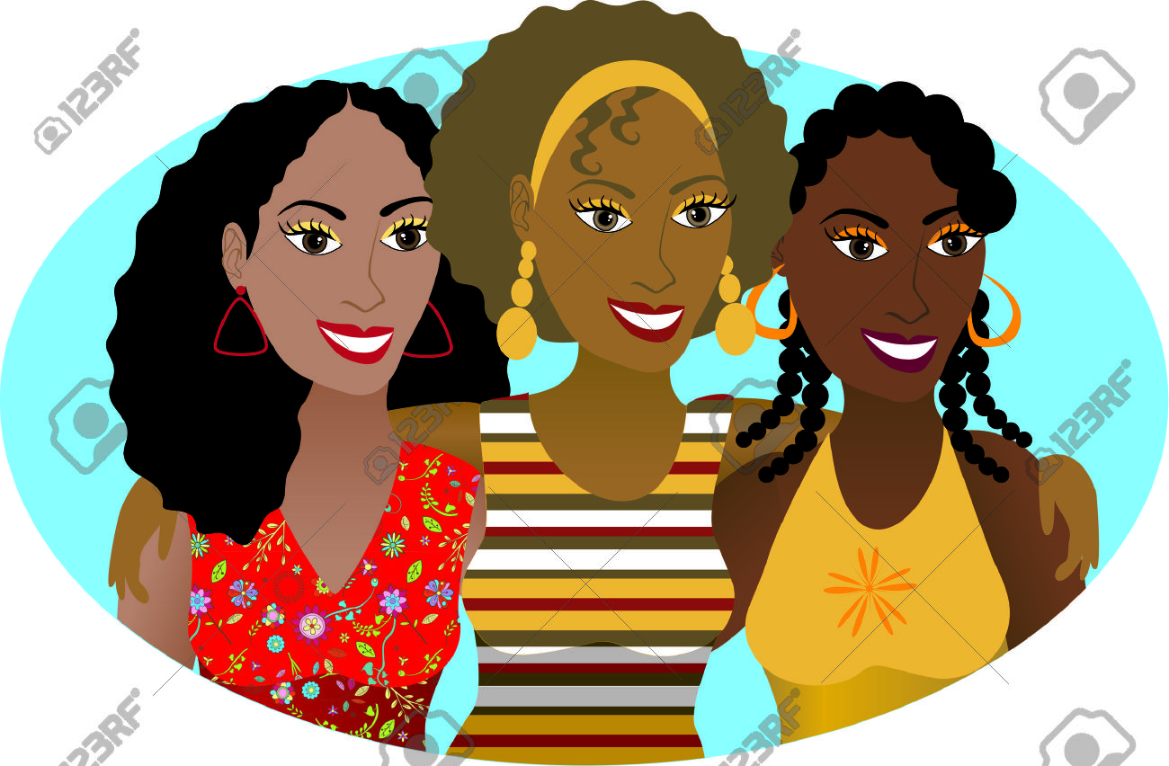 African American Women Clipart.