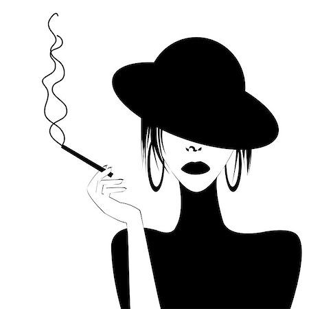Pin on smoking art.