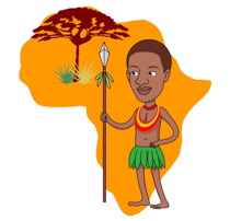 African Clipart Images.