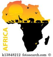 Afrique Clipart et Graphisme. 49 244 afrique La recherche de.