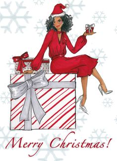 110 Best Black Christmas images.