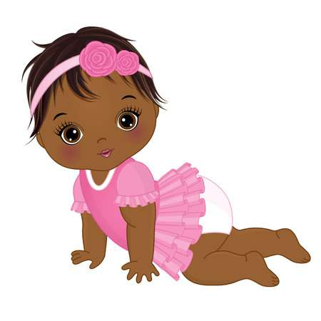 2,036 African American Baby Cliparts, Stock Vector And Royalty Free.