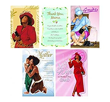 Amazon.com : Assorted African American Mother\'s Day Card Box.
