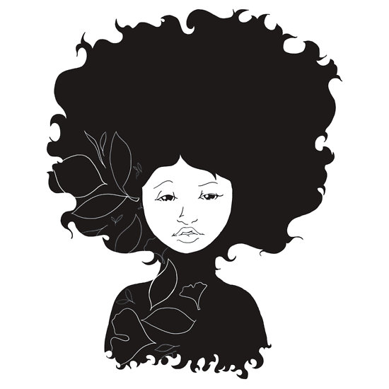 Afro Clipart.