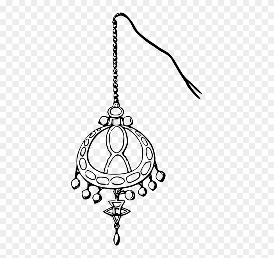Earrings clipart black and white clipart images gallery for.