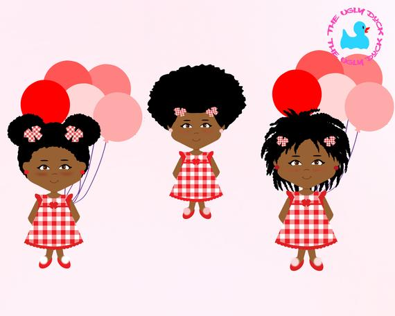 Brown Girl Clipart.