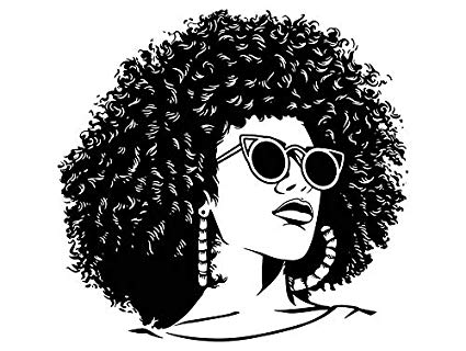 Afro movie clipart Transparent pictures on F.