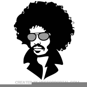 Free Afro Hair Clipart.
