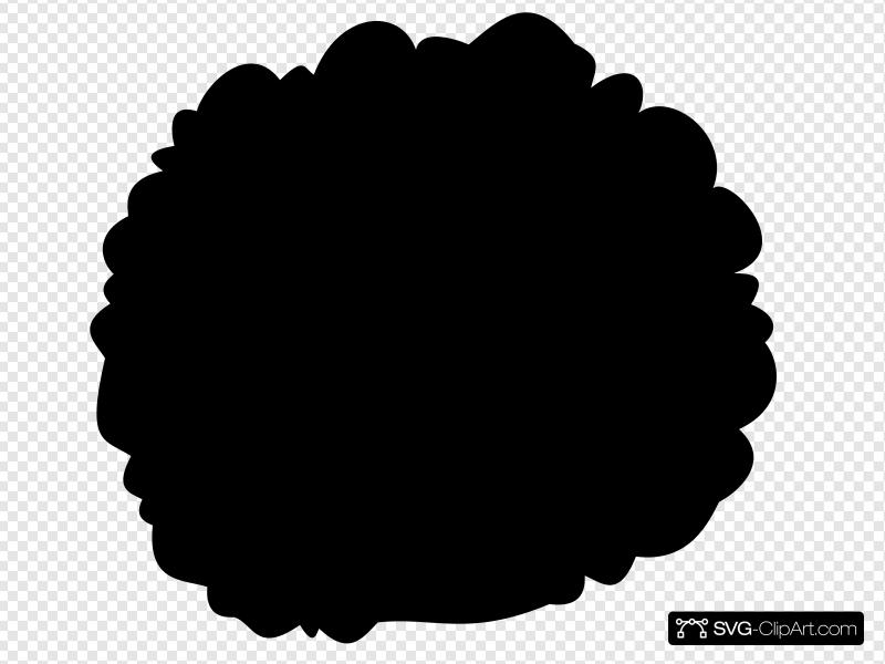 Afro Clip art, Icon and SVG.
