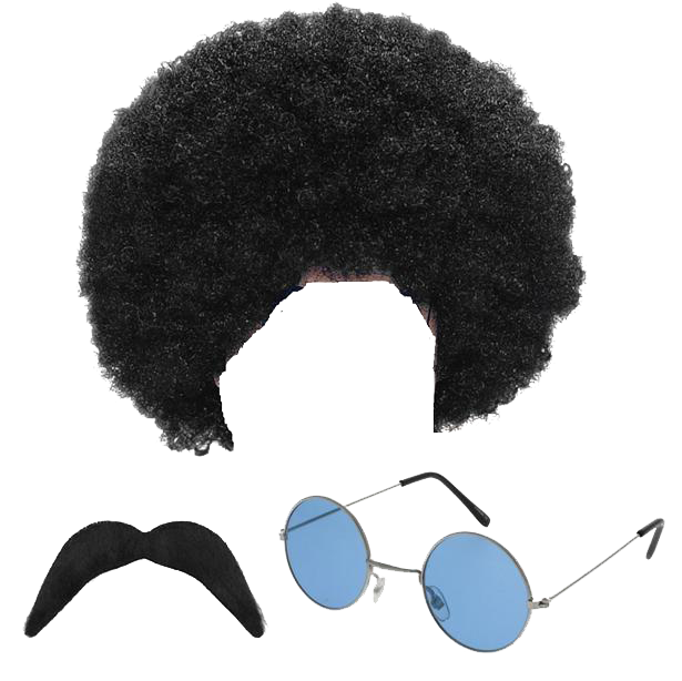 Afro Hair PNG Pic.
