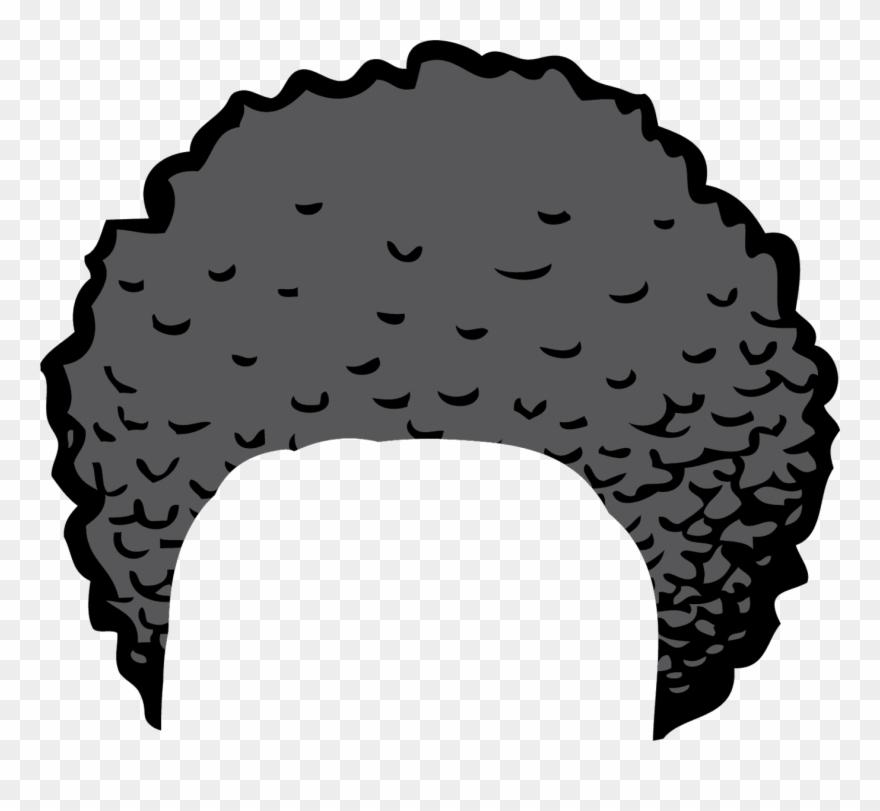 Clipart Of Hair And Bun Hair.