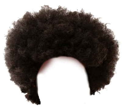 Afro PNG.