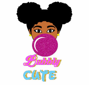 Afro Puff Baby Gifts on Zazzle.