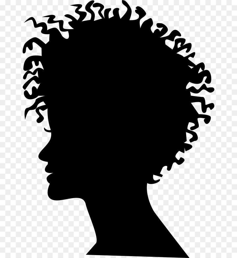 Woman Hair png download.