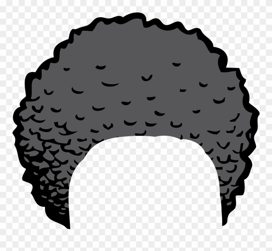 Crazy Hair Clipart.