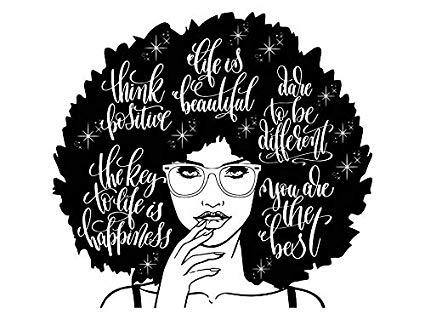 Amazon.com: Yetta Quiller Afro Woman Nubian Queen Diva Afro Hair.