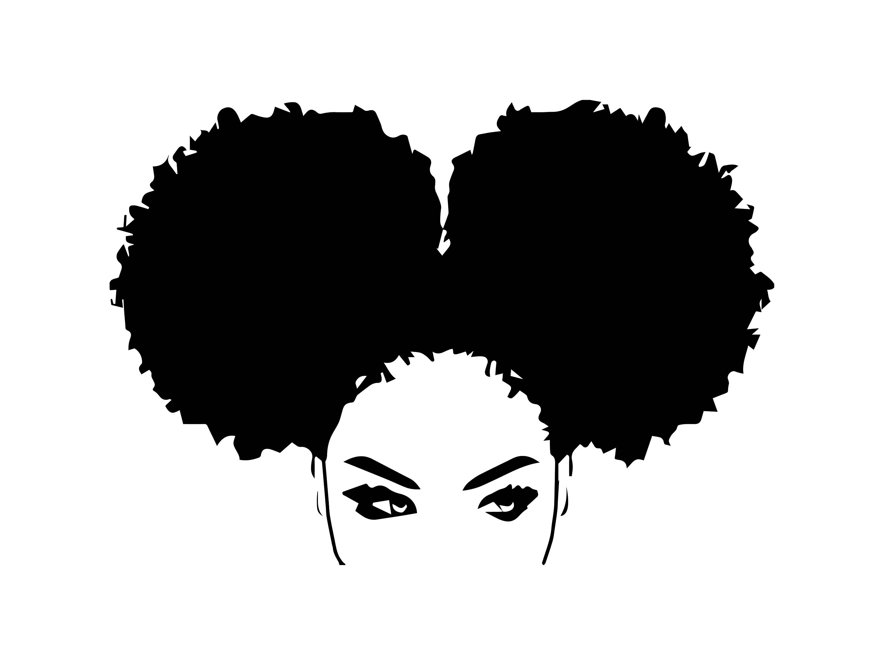 Afro Woman svg Princess Queen Afro Hair Beautiful African American Female  Lady SVG .EPS .PNG Vector Clipart Digital Circuit Cut Cutting.