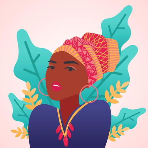 Women of Color Vector.