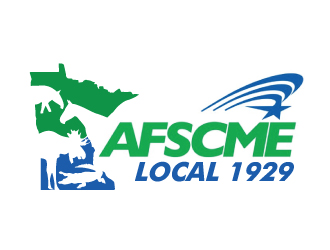 AFSCME Local 1929 logo design.