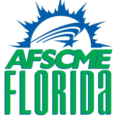 AFSCME logo.