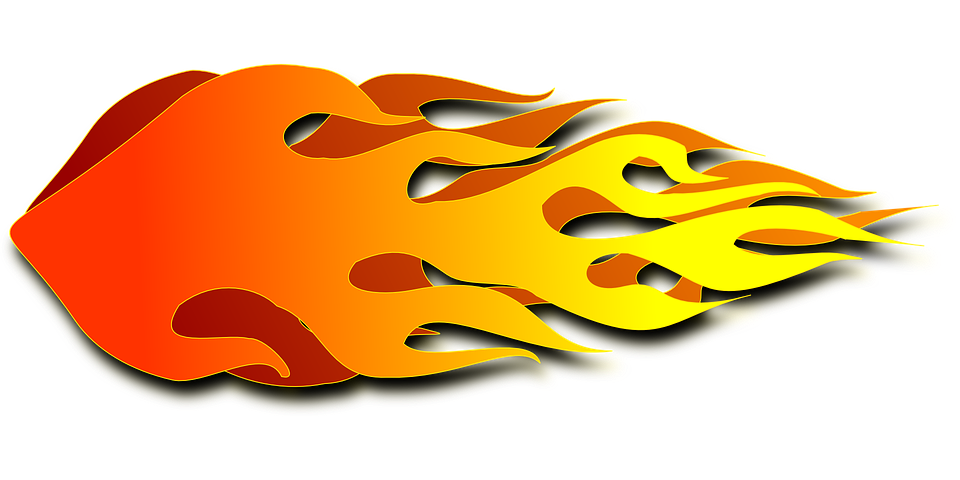 Free vector graphic: Afterburner, Burn, Reheater, Fire.