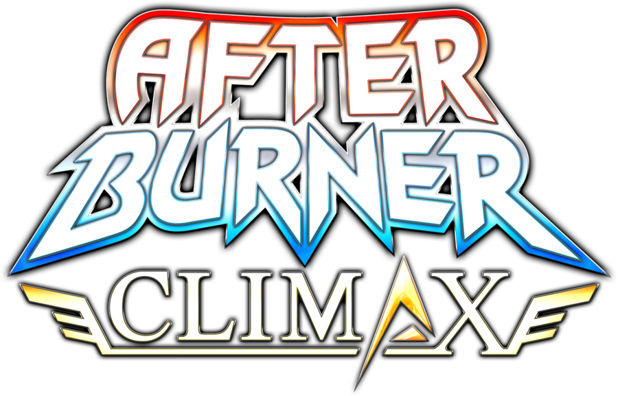 After Burner Climax logo by RingoStarr39 on DeviantArt.