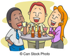 After work Clip Art and Stock Illustrations. 584 After work EPS.
