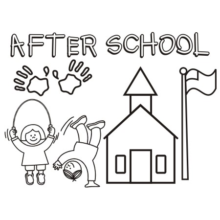 After clipart.