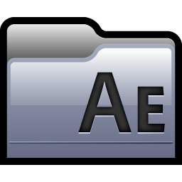Free Icons: Folder Adobe After Effects 01 Icon.
