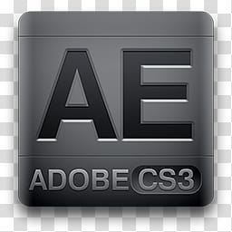 CS Magneto Icons, After Effects, AE Adobe CS icon.