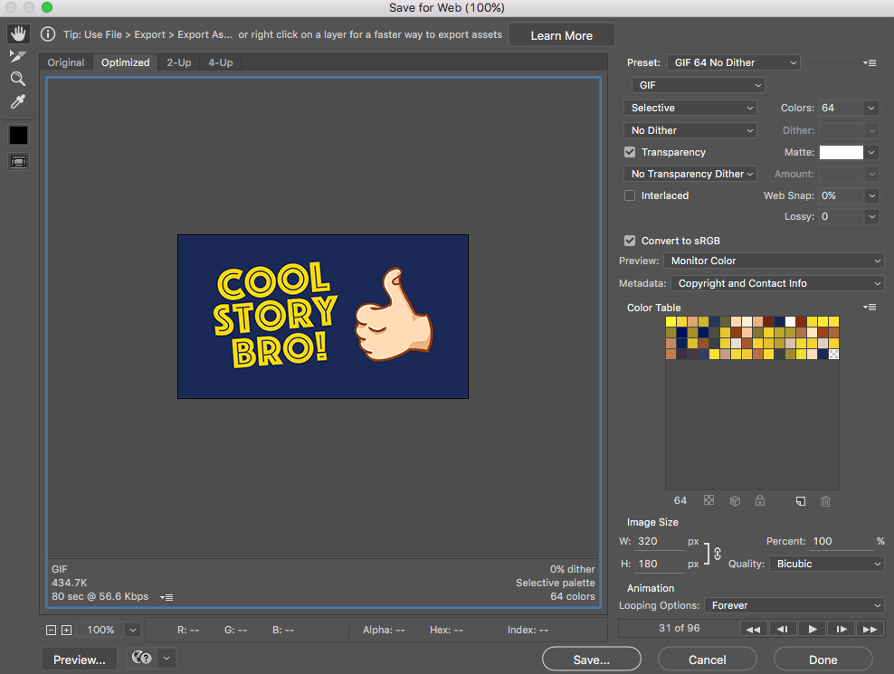 Making Animated GIFs From After Effects Comps.