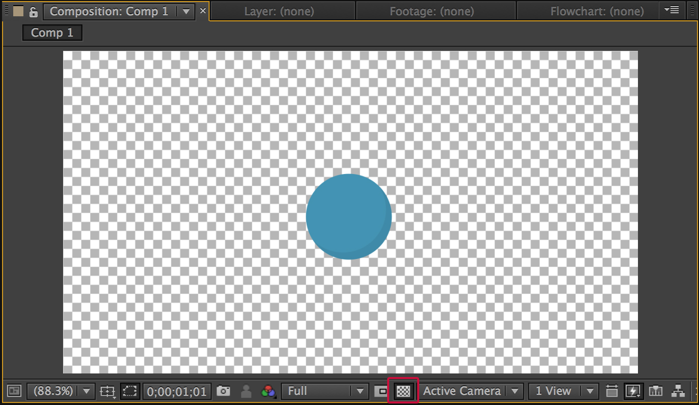 Quick Tip: Exporting with Alpha Channels in After Effects.