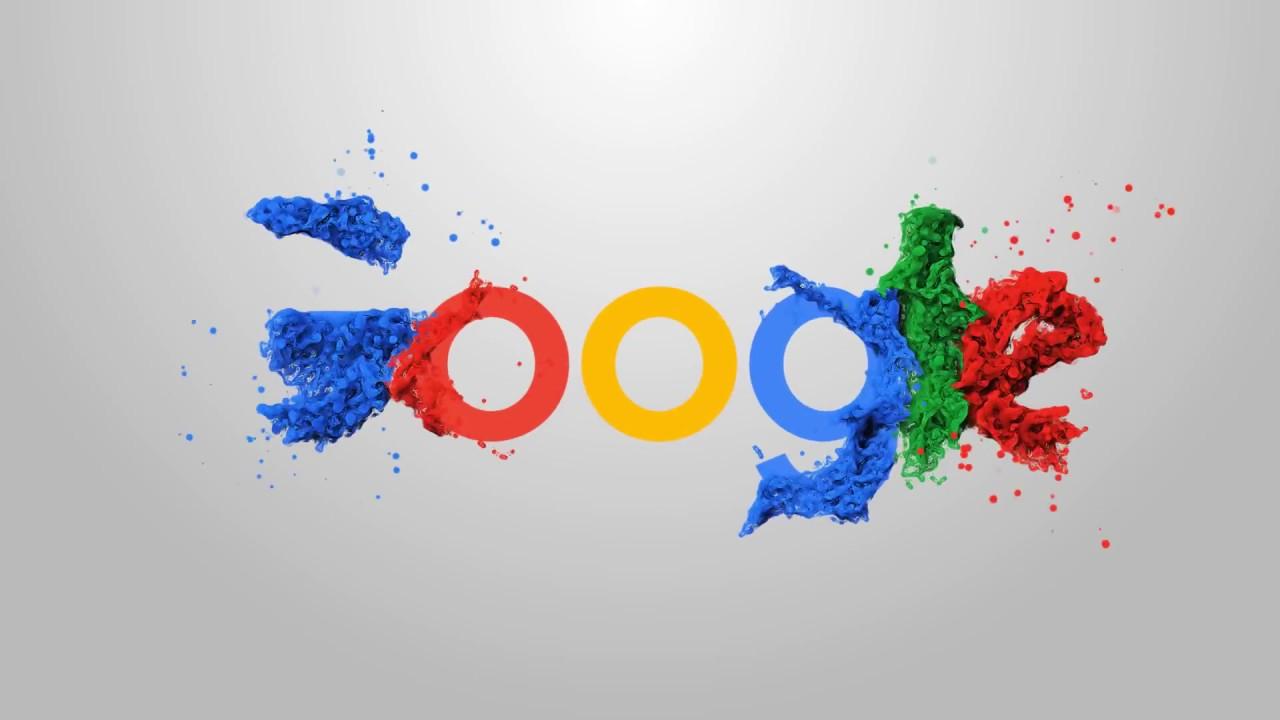 Google logo animation.