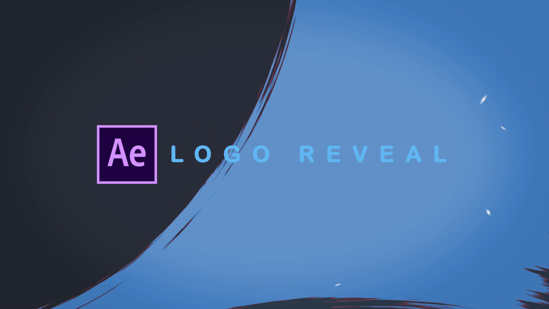 Logo Reveal After Effects.