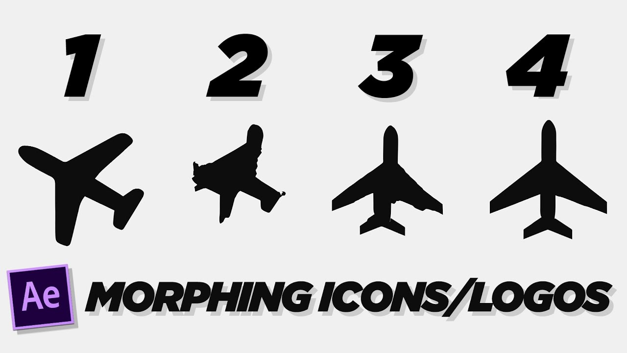 Morphing Logos and Icons.