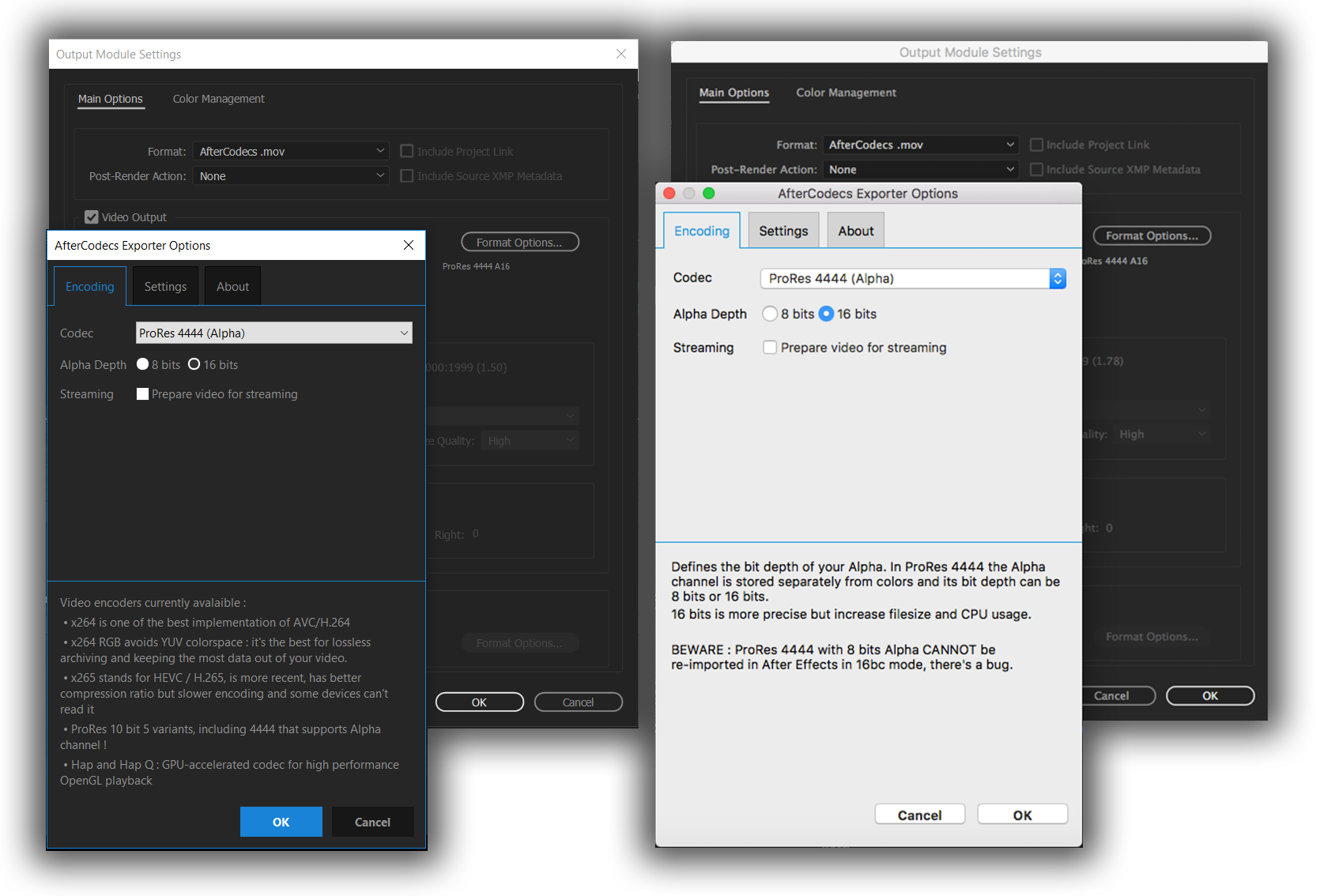 Quicktime Codec For After Effects