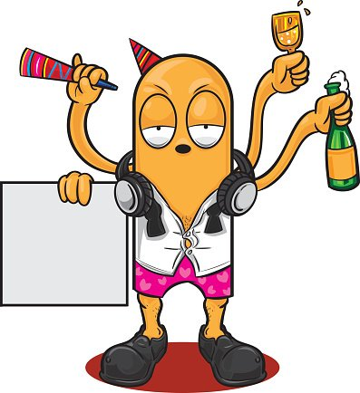 after party Clipart Image.