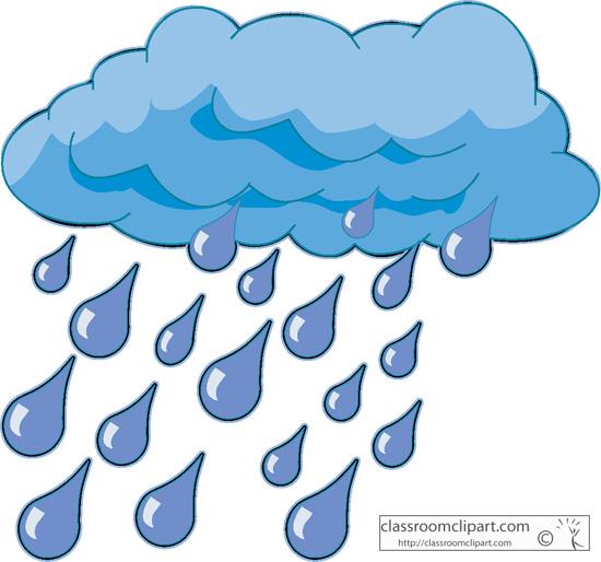 Free clipart rain.