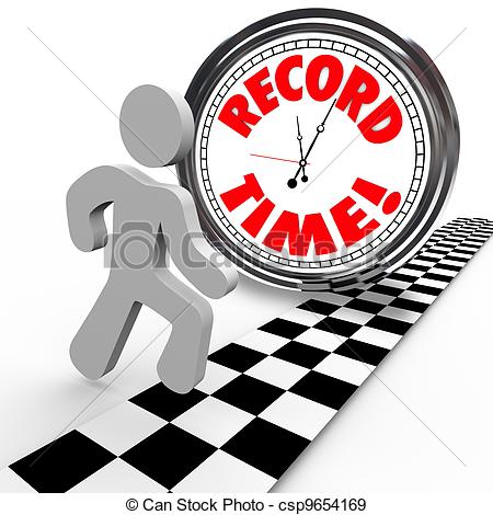 Daily Time Record Clipart.