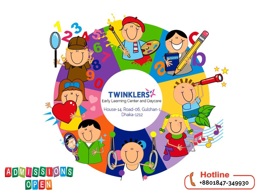 We are Specialized for Early Childhood Education, Children.