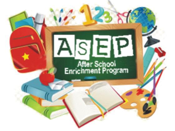 The After School Enrichment Program.