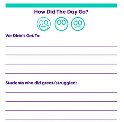 Printable Classroom Forms for Teachers.