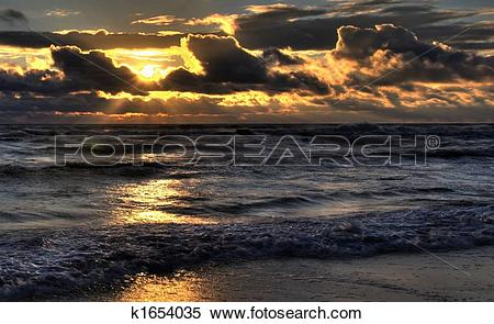 Stock Image of Baltic sea after storm k1654035.