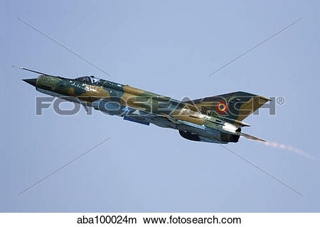 Stock Photo of Romanian Air Force MiG.